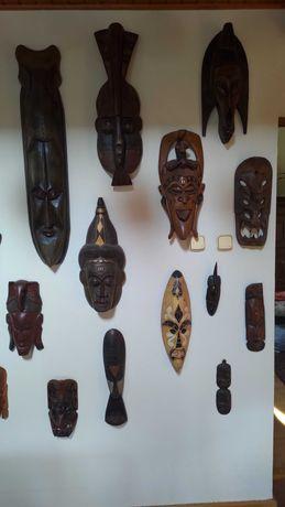 Kolekcja 39 x maska afrykańska