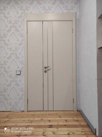 Установка дверей.