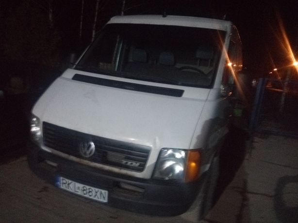 Volkswagen LT 2.5 tdi 102 km VW lt krótki do blacharki. Bus blaszak