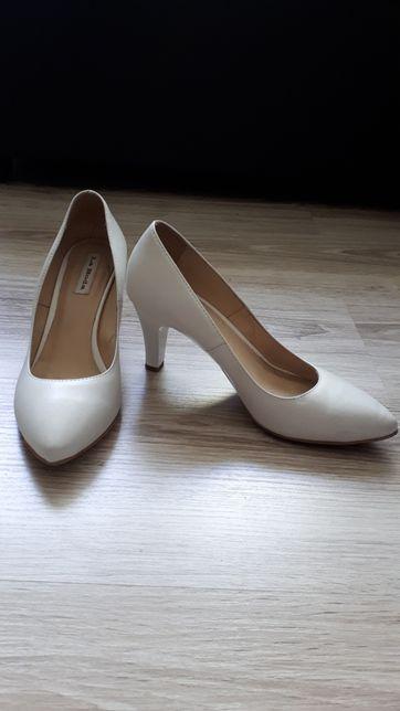 Skórzane buty ślubne La Boda 37
