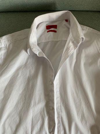 Koszula Hugo Boss roz L biała slim fit CK Ralph