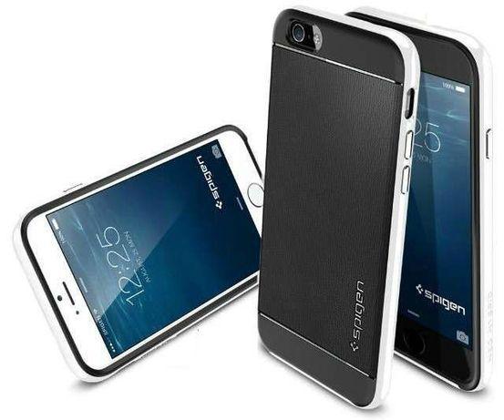R169 Capa Spigen Slim Armor Neo Hybrid iPhone 6 4.7 Novo! ^A