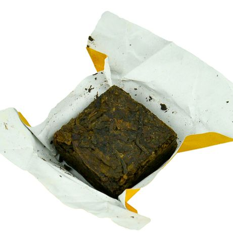 Чай Пуэр выдержанный ШУ PREMIUM Кубик, 1 шт. Арт 16918