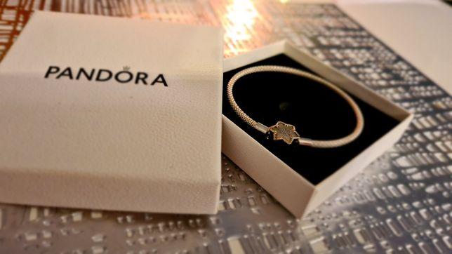 NOWA srebrna bransoletka Pandora ,,Walentynki,,
