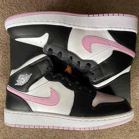 Jordan 1 Mid White Light Arctic Pink 36/37.5