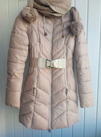 Пальто зимняе xs-s