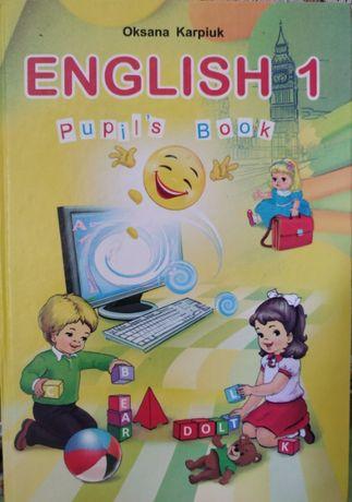 Продам English 1 О. Карпюк