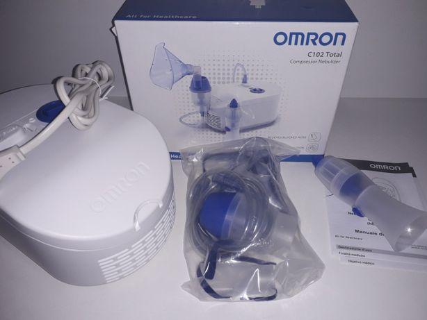 Nowy inhalator Omron Total C102 z aspiratorem do nosa