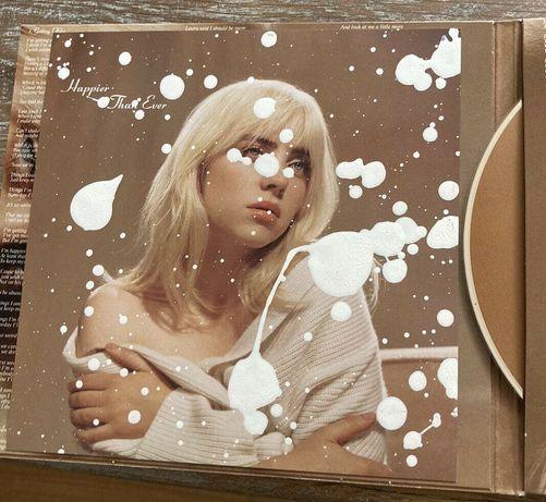 Лимит. альбом Билли Айлиш: арт + CD. Billie Eilish Happier Than Ever