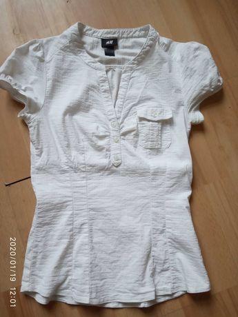 Biała Bluzeczka rozm S zamienie