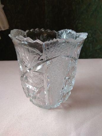 Хрустальная ваза Чехословакия