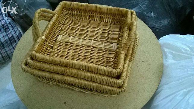 Conjunto 3 cestas