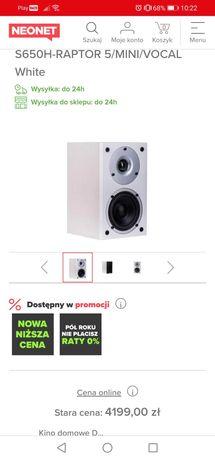 Kino domowe DENON 5.0HTS S650H-RAPTOR 5/MINI/VOCAL White