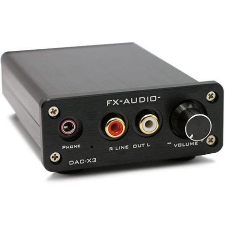 Karta dźwiękowa zewnętrzna FX-AUDIO DAC-X3 USB