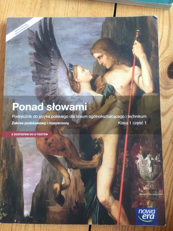 """""""Ponad Słowami"""" kl.1 cz.1 Podręcznik"""