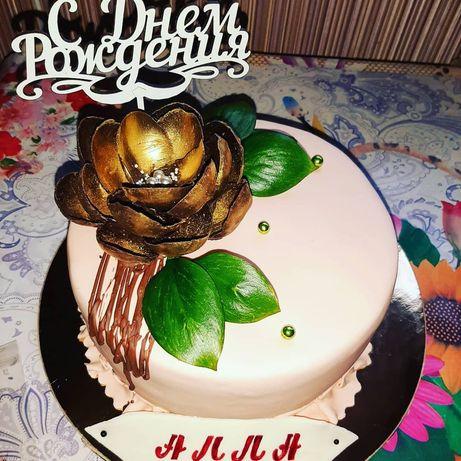 Авторские домашние торты, трайфлы, капкейки
