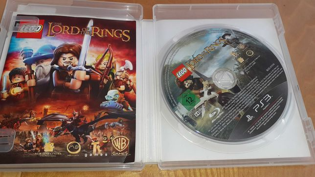 Gra na PlayStation 3 LEGO the lord of the RINGS
