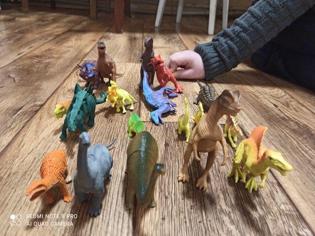 Динозавры плотная резина
