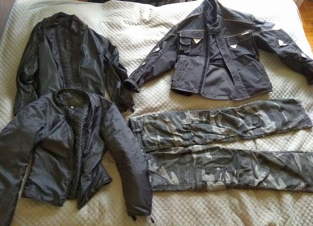 Strój motocyklowy - kurtka + spodnie (Tarbor)