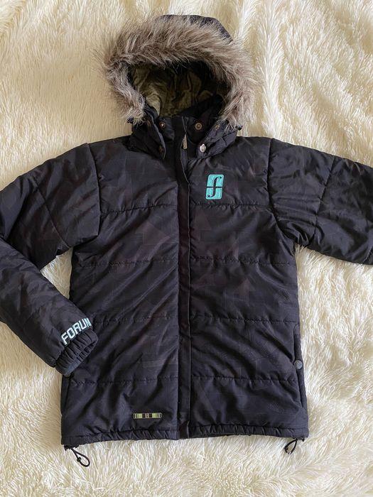 Чорна куртка гірськолижна, горнолыжная, спортивная, FORUM, розмір ХС С Львов - изображение 1