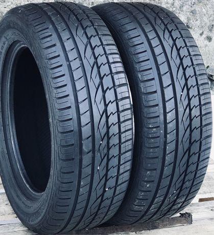 Continental 235/55r17 2 шт лето резина шины б/у склад