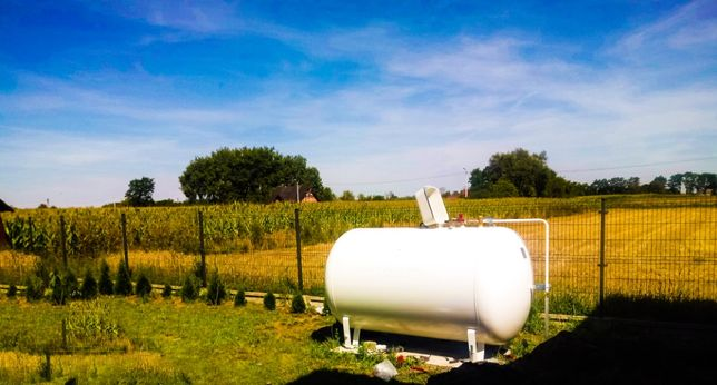 Zbiornik na gaz propan 2700 , 4850 l , butle gazowe , zbiornik na włas