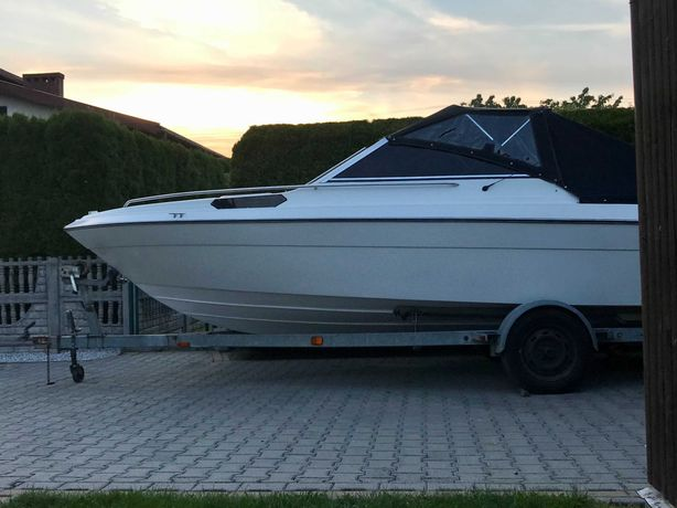 Łódź motorowa kabinowa motorówka jacht Campion, Bayliner 3.0TD