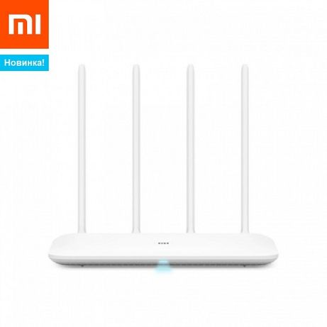 Маршрутизатор Xiaomi Mi WiFi 4c Роутер БЕЛЫЙ домашний интернет
