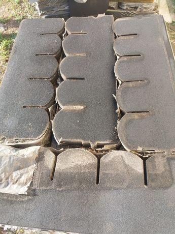 Gonty papowe MATIZOL karpiowka ciemny grafit