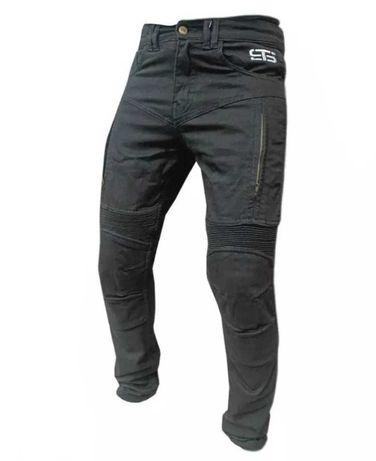 Calça jeans de mota scooter com proteções nova
