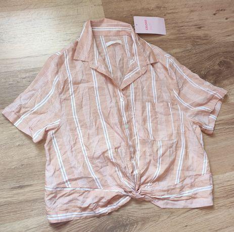 Koszula Cropp nowa z metkami crop top wiązana