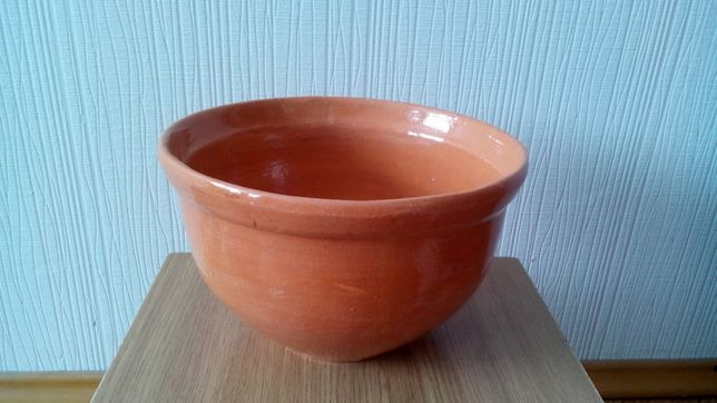 Глиняная миска макитра для вареников Опошня