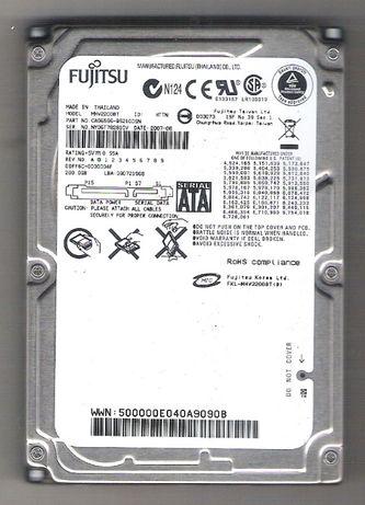 """Продам недорого жёсткий диск FUJITSU 2,5""""(SATA), 200 гб , для ноутбука"""