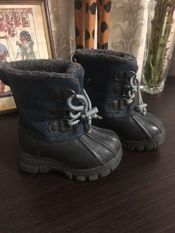 Сапожки сапоги ботинки children's place демисезонные 22 р.