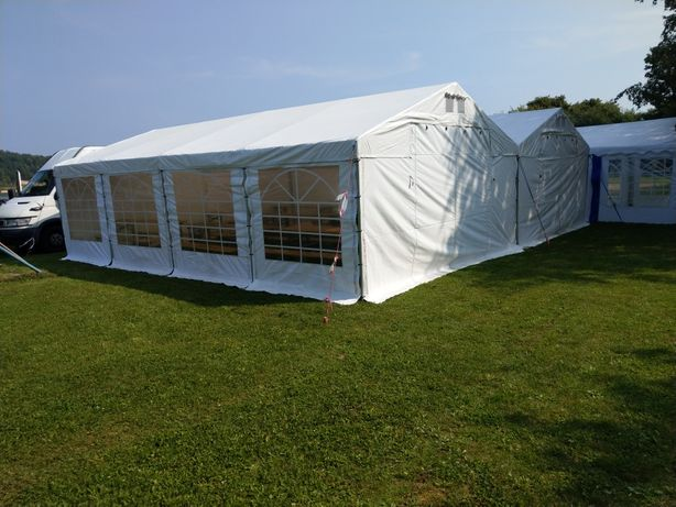 Namiot na komunię, imprezę, imprezy firmowe, parasole, meble, podłogi