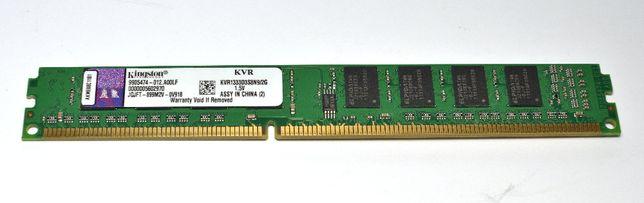 Оперативная память Kingston DDR3-1333 2Gb PC3-10600