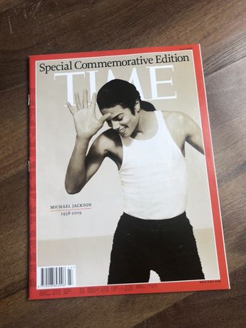 Michael Jackson Tribute TIME Magazyn