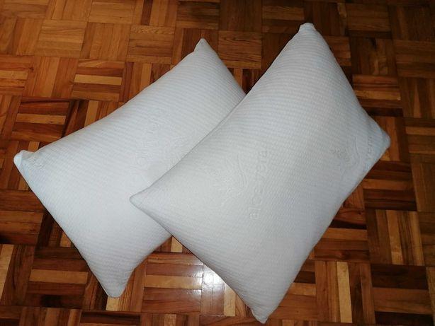 Poduszka ortopedyczna aloe vera 40x60 2 sztuki jak nowa