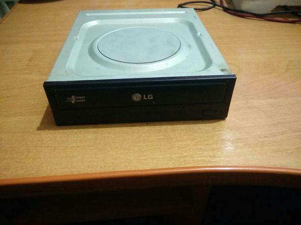 Привод оптический для ПК DVD-RW Sata LG black