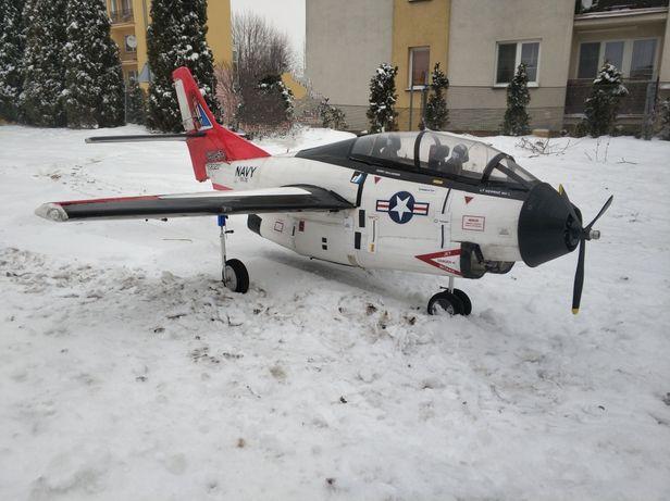 Samolot RC T2C Buckeye serwa i chowane podwozie, sam KIT