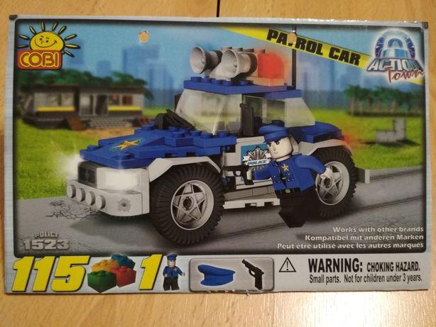 Klocki Cobi 1523 wóz policyjny samochód patrolowy