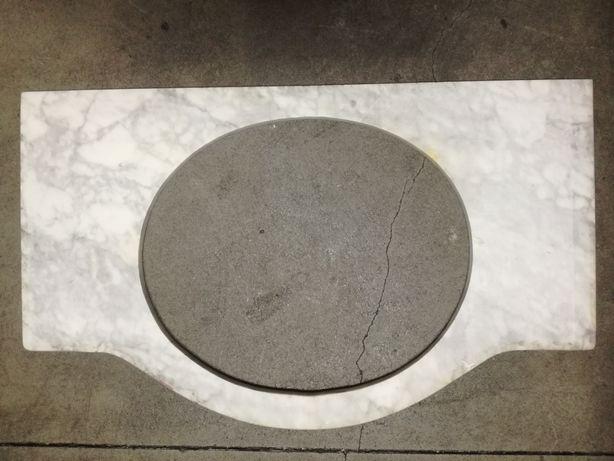 Pedra mármore para lavatório