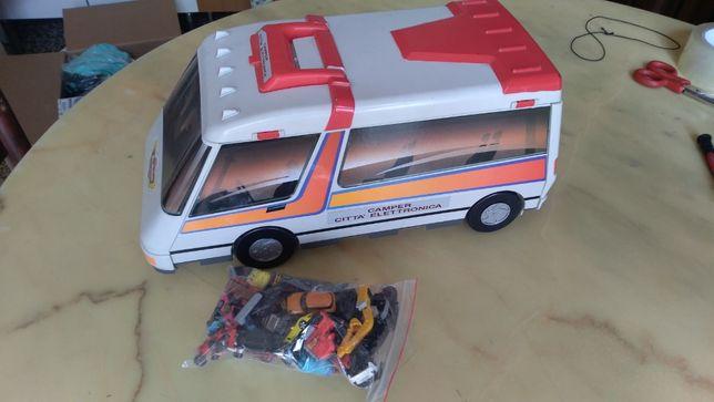 игрушка большой автобус город автопарк