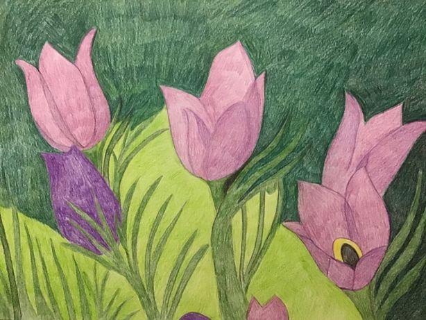 Rysunek,kwiatki