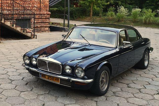 Auto, samochód do ślubu - stylowy Jaguar XJ 1978- auto z klimatyzacją