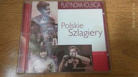 CD - POLSKIE SZLAGIERY - Platynowa kolekcja -składanka przebojów
