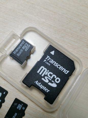 Флешки карта памяти 256mb, 1gb, 8gb, 16gb