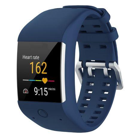 Bracelete azul p/ substituição POLAR M600