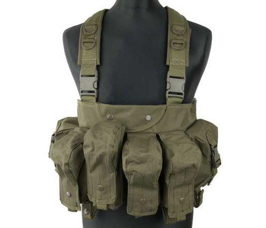 Plecak kamizelka taktyczna ASG Paintball Commando Chest kam-51-olv
