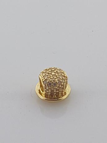 Złoty element charms na bransoletkę Pandora, Próba 585 Nowy (149)